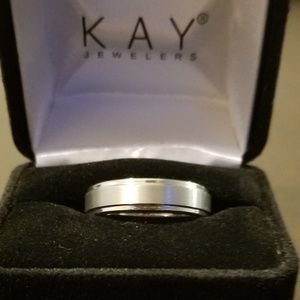 Other - *Brand New* White Tungsten Carbide 6mm Men's Ring